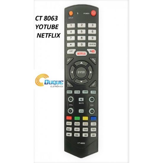CT TV LCD TOSHIBA YOUTUBE  NETFLIX ATF 8024